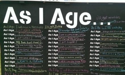 As I Age…