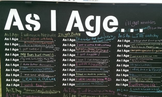 As I Age…
