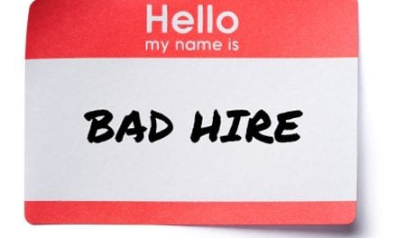 You would never hire me . . .