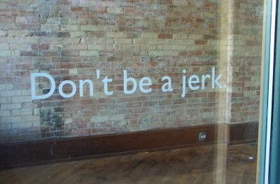 Don't Be a Trade Show Jerk – We all need one more connection!