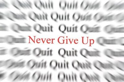 Never give up!  Pursue Prospects like you Mean It
