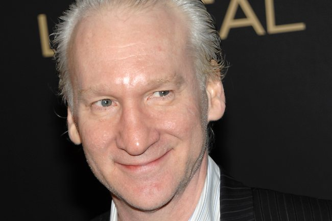 Bill Maher Campaigns Against Ageism . . . Sort of.