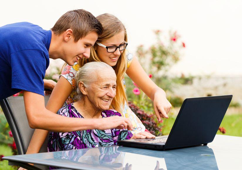 The Cyber Seniors Program: Connecting Generations