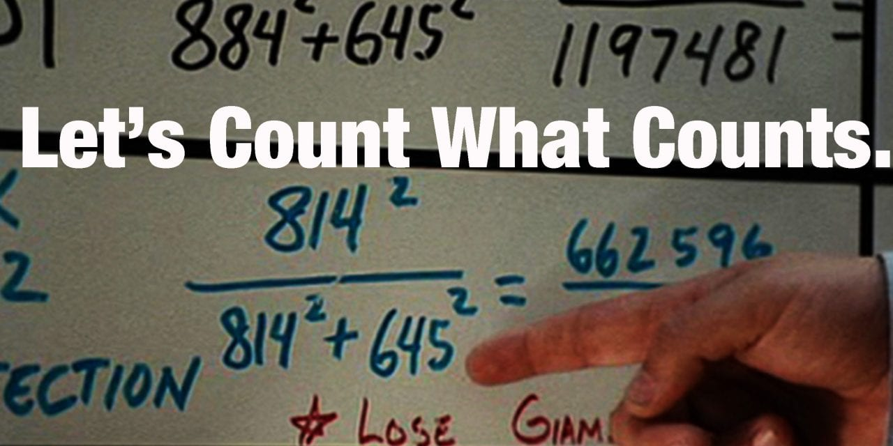 """""""Moneyball"""" – Are You Counting The Numbers That Matter?"""