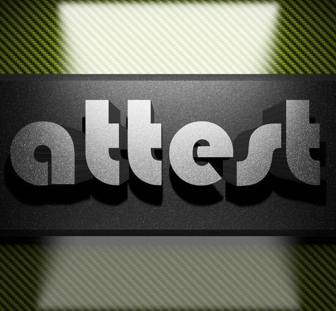 "Can You ""Attest""?"