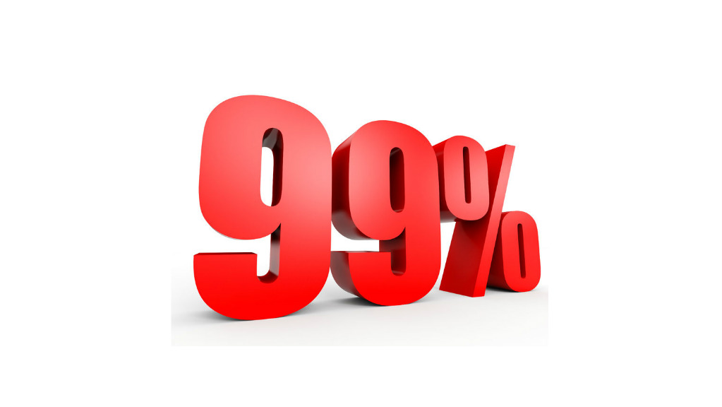 99% Occupancy In A 90% Market