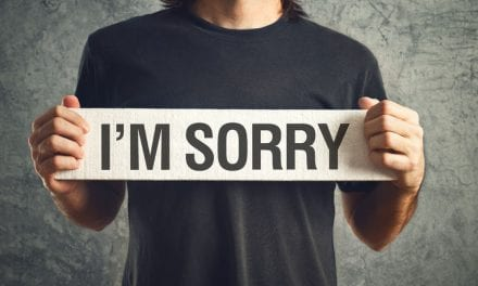 "There Is Someone You Need to Say ""I Am Sorry"" To!"