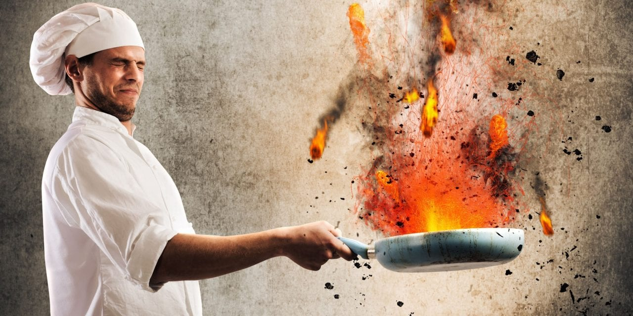 'Hell's Kitchen' in Your Dining Room? Hell No!