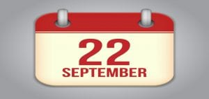 September 22