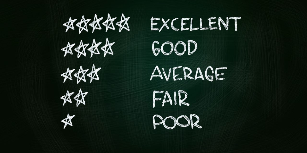 An Audacious Question: What's Your Personal Star Rating?