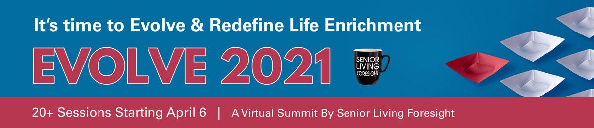 Evolve 2021 Summit Starts April 6
