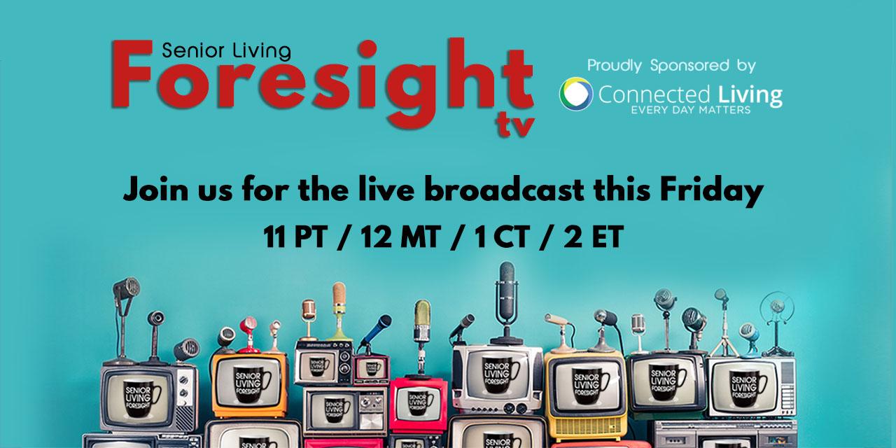 2021 Foresight TV Waiting Screen w/ CL Logo