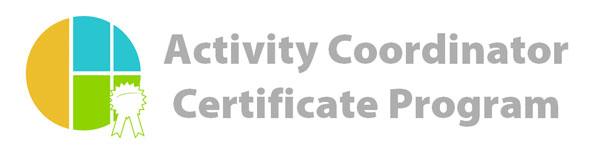 Activity Coordinator Certificate Program