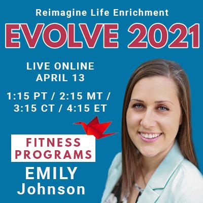Evolve 2021 Emily Johnson Sponsored by Connected Living