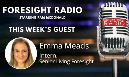 S3 Episode 6 – New Blood, Fresh Ideas: College Senior Emma Meads Chooses Senior Living for Her Career