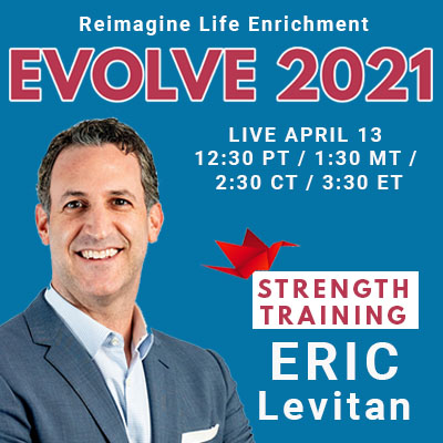 Evolve 2021 Eric Levitan Sponsored by Connected Living